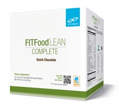 FIT Food Lean Complete Dutch Chocolate 10 svg