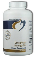 OmegAvail Synergy TG 180 softgels