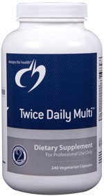 Twice Daily Multi 240 vegetarian capsules